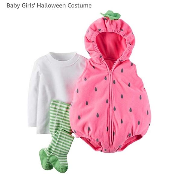 f8f833d607e Strawberry Costume Baby Girl 3-6 month. M 5baa887fc2e9fe889bd0b2ca